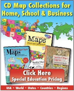 Special Editable Powerpoint And Ilrator Map Collection For Education Includes World Globes World Regions Us States Countries