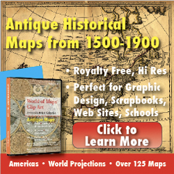 antique historical maps, clipart, antiquehistoricalmaps.com