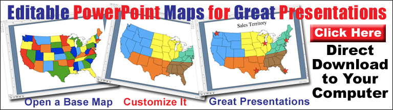 US And Canada Printable Blank Maps Royalty Free Clip Art - Interactive us map for powerpoint