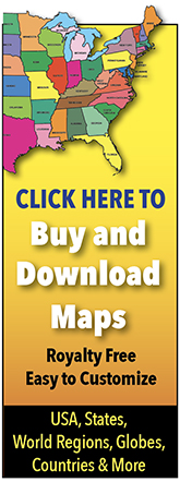 India Printable, Blank Maps, Outline Maps • Royalty Free