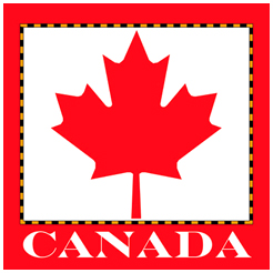 Canada Map, maple leaf, gift product, canadians, north america