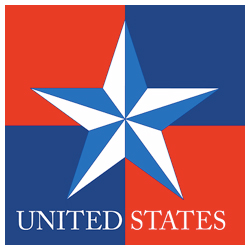 Map clothing gifts and products free us and world maps usa star on blue red background united states star publicscrutiny Choice Image