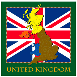 United Kingdom, England, Map, flag, gift, products, tshirt