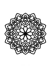 Mandala Happiness 4 Asian Designsadult Coloring Book