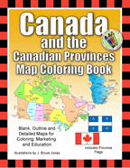 Canada and Canadian Provinces Coloring book