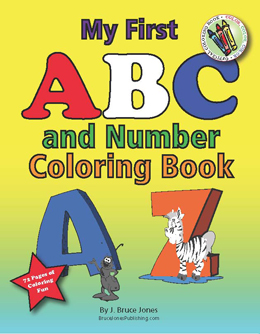 My First ABC And Number Coloring Book