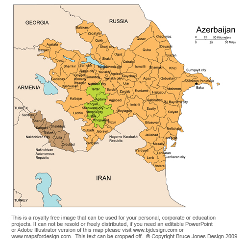 azerbaijan central asian country middle east royalty free jpg azerbaijan map capital