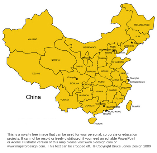 China map capital beijing asian country located near japan south