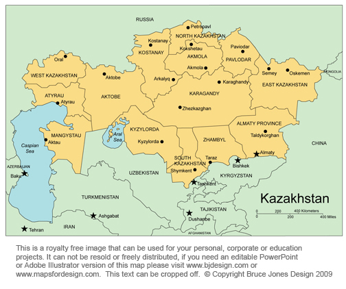 kazakhstan almaty central asian country royalty free jpg kazakhstan map