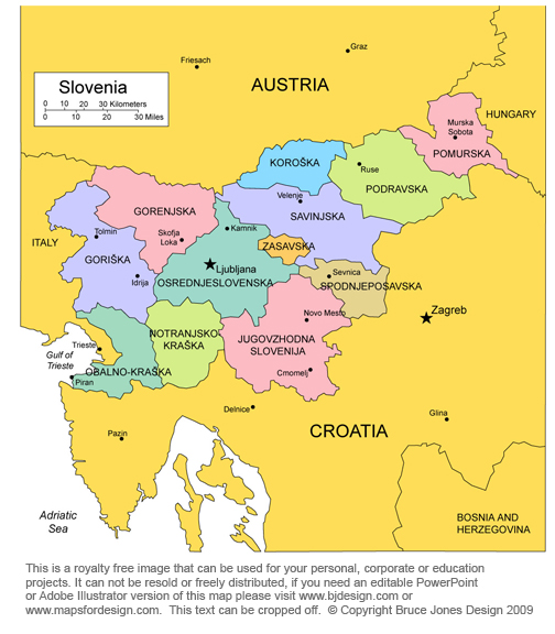 Free maps of european countries printable royalty free jpg you can slovenia map ljuljana europe royalty free jpg gumiabroncs Choice Image