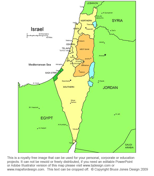 Israel Map, Middle East, Bible, royalty Free, jpg