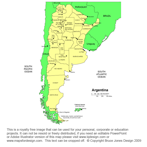 map of argentina and chile. Argentina map South America