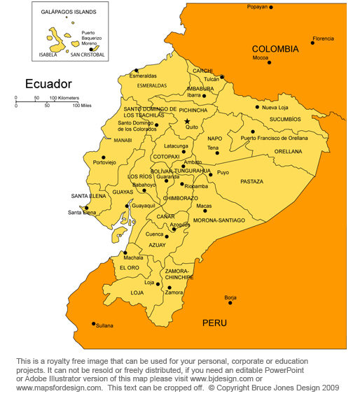 United kingdom ecuador map quito south america royalty free jpg gumiabroncs Choice Image