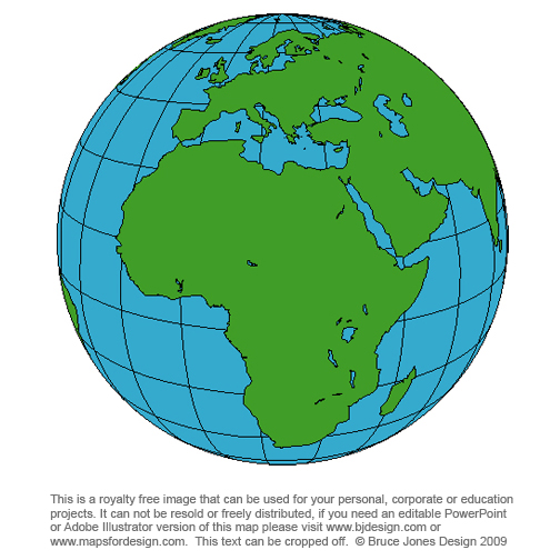 World globes maps royalty free download to your computer world globe africa printable blank royalty free gumiabroncs Gallery