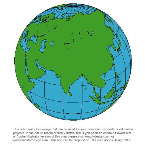 india world globe map royalty free blankprintable