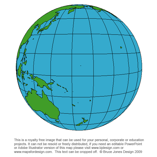 World Globes Maps Royalty Free Download To Your Computer - New zealand latitude