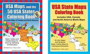 Usa And Us State Individual Pdf Maps