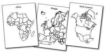 World Regional Printable Blank Maps Royalty Free Jpg