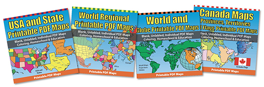 Royalty Free US and World Map • Printable, Clip Art Maps You ...