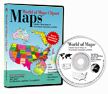 World of Maps CD back up disc