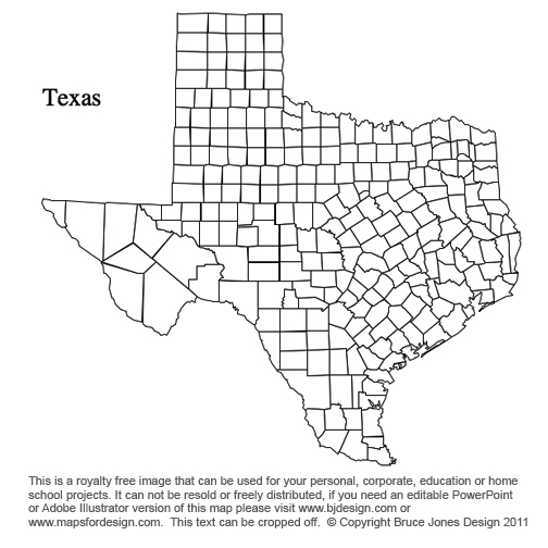 Printable Map Of Texas Counties Printable Maps - Map of texas counties