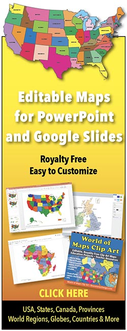 Us Printable County Maps  Royalty Free