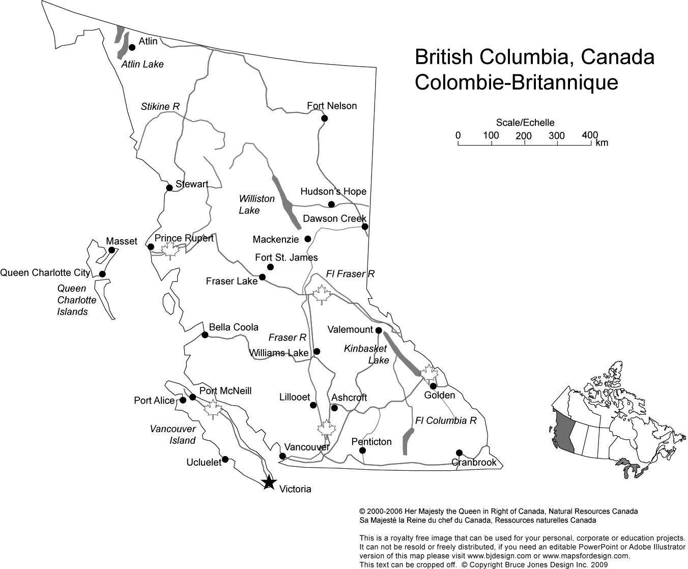 Map Of Canada With City Names.Canada And Provinces Printable Blank Maps Royalty Free Canadian