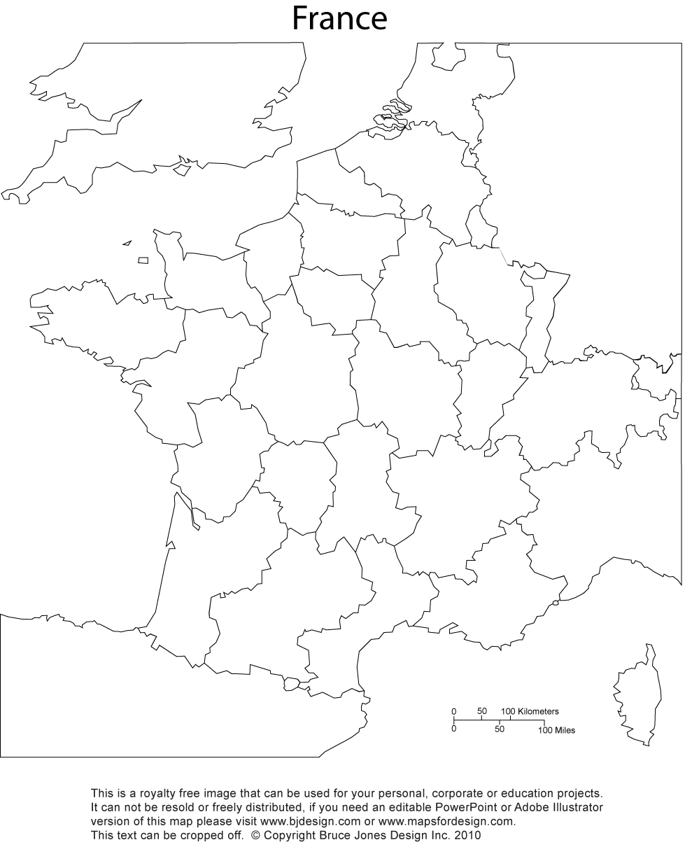Map Of France Printable.France Map Printable Blank Royalty Free Jpg