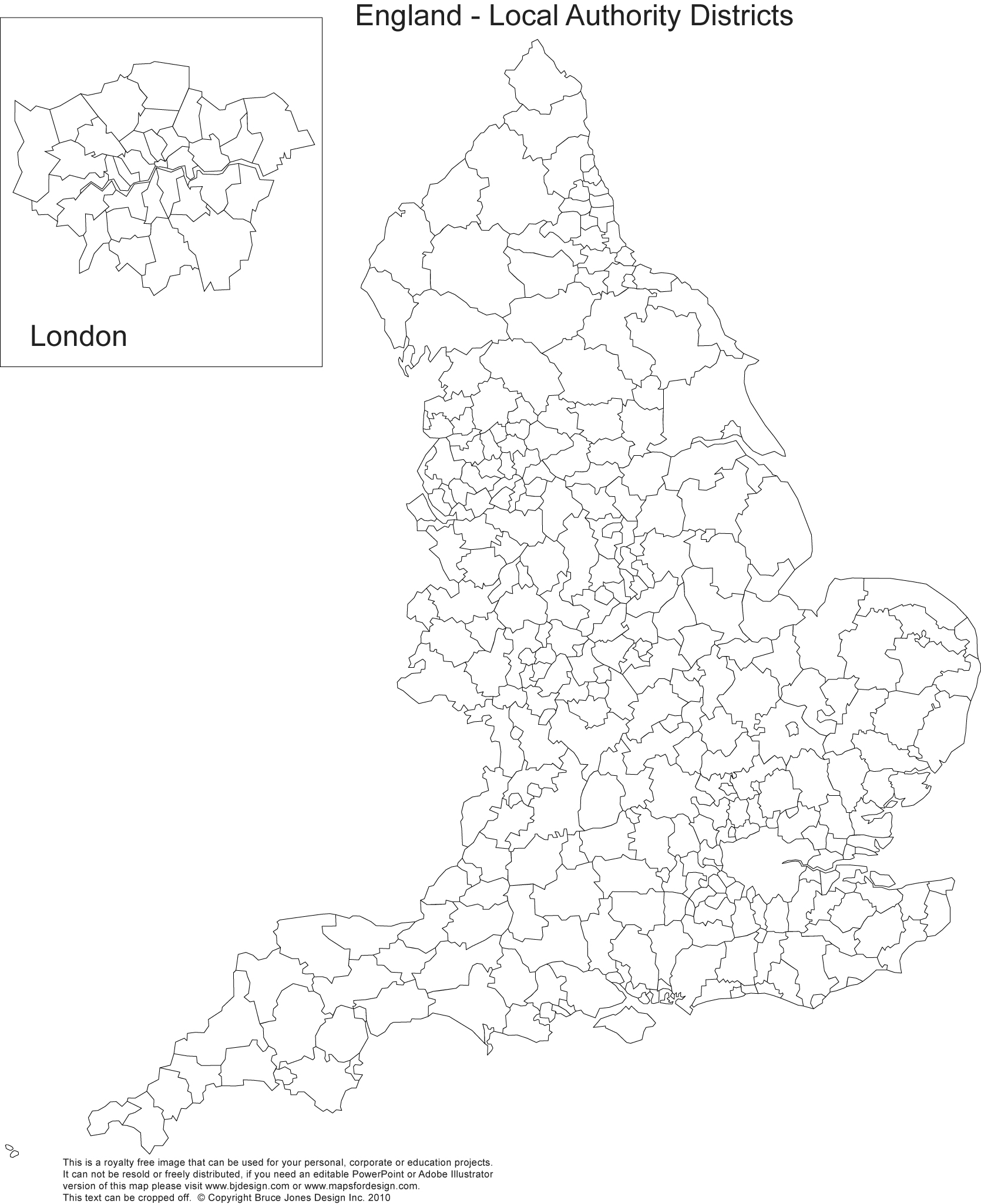 Map Of England Showing London.Printable Blank Uk United Kingdom Outline Maps Royalty Free