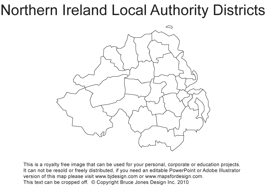 Map Of Northern Ireland Counties.Printable Blank Uk United Kingdom Outline Maps Royalty Free