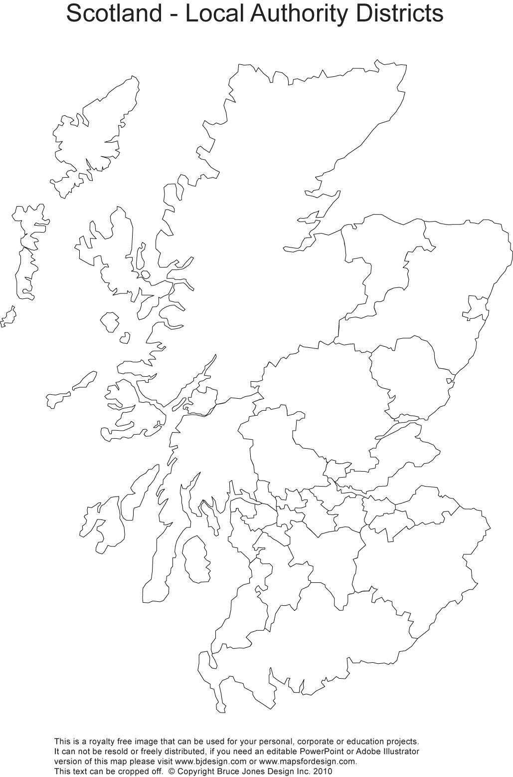 Empty Map Of Ireland.Printable Blank Uk United Kingdom Outline Maps Royalty Free