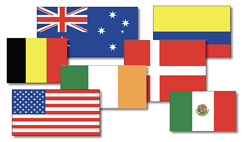 Country Flags, Printable, jpg Royalty Free, Download