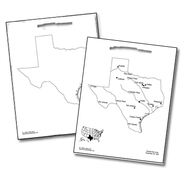 picture relating to Texas Outline Printable known as US Place Outlines, No Words and phrases, Blank Maps, Royalty Free of charge Clip