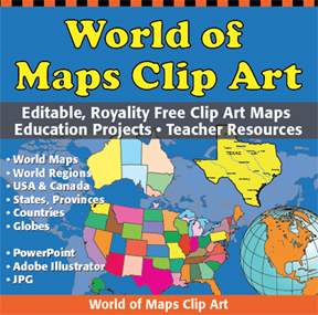 Free Downloadable World Map.World Regional Printable Maps Royalty Free Download For Your