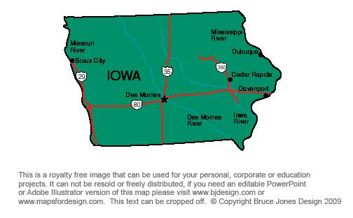 USA State Printable Maps, Hawaii to Maryland State jpg