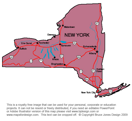graphic about Printable Maps of New York State identify US Country Printable Maps of Clean Mexico in direction of South Carolina, jpg