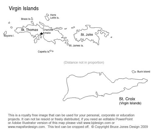 USA Territory Printable Maps, Royalty Free, Guam, Saipan ...