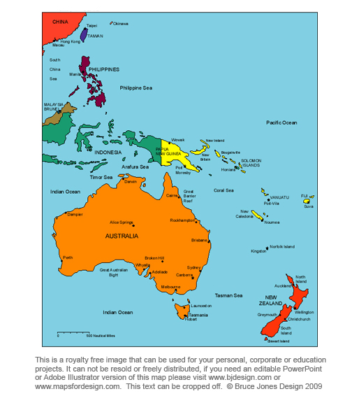 I'm new but I've already narrowed my map down to the parts ...  New Zealand World Map Asia