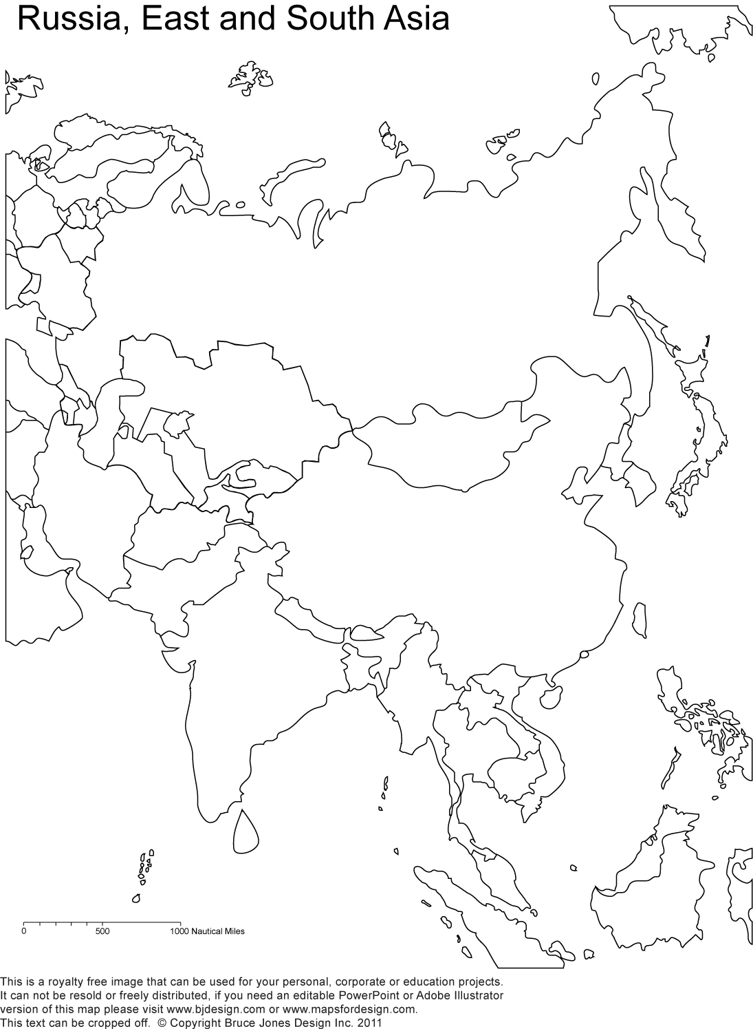 unmarked map of asia World Regional Printable Blank Maps Royalty Free Jpg